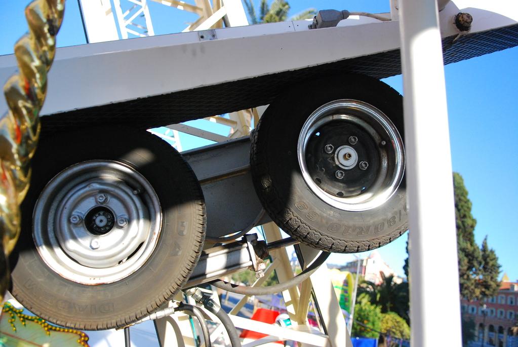Подвижные детали и узлы колеса обозрения