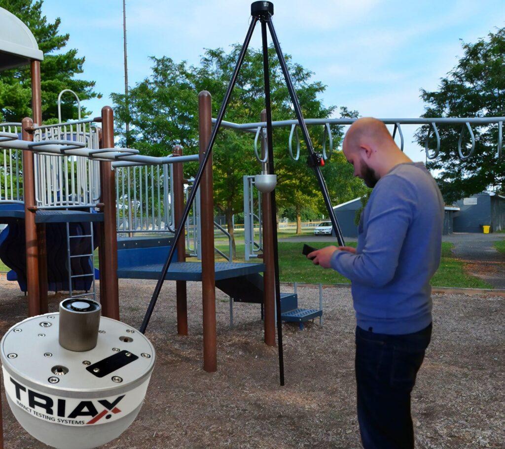 Испытания покрытий детских площадок